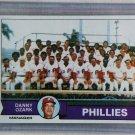 1979 Topps Baseball #112 Phillies Team Checklist Pack Fresh