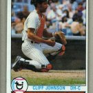 1979 Topps Baseball #114 Cliff Johnson Yankees Pack Fresh