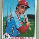 1979 Topps Baseball #118 Bud Harrelson Phillies Pack Fresh