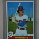 1979 Topps Baseball #120 Jim Sundberg Rangers Pack Fresh