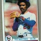 1979 Topps Baseball #128 Ted Martinez Dodgers Pack Fresh