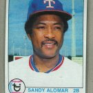 1979 Topps Baseball #144 Sandy Alomar Rangers Pack Fresh