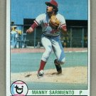 1979 Topps Baseball #149 Manny Sarmiento Reds Pack Fresh