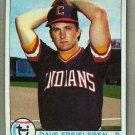 1979 Topps Baseball #168 Dave Freisleben Indians Pack Fresh