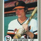 1979 Topps Baseball #236 Jim Dwyer Giants Pack Fresh