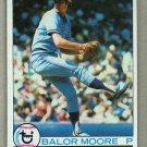 1979 Topps Baseball #238 Balor Moore Blue Jays Pack Fresh