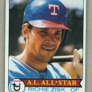 1979 Topps Baseball #260 Richie Zisk Rangers Pack Fresh