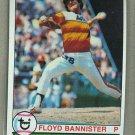 1979 Topps Baseball #306 Floyd Bannister Astros Pack Fresh