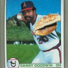 1979 Topps Baseball #322 Danny Goodwin RC Angels Pack Fresh