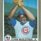 1979 Topps Baseball #323 Lynn McGlothen Cubs Pack Fresh