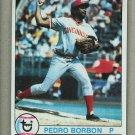 1979 Topps Baseball #326 Pedro Borbon Reds Pack Fresh