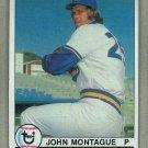 1979 Topps Baseball #337 John Montague Mariners Pack Fresh