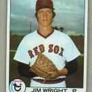 1979 Topps Baseball #349 Jim Wright RC Red Sox Pack Fresh