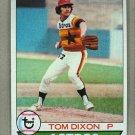 1979 Topps Baseball #361 Tom Dixon RC Astros Pack Fresh
