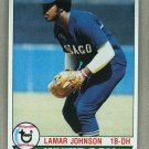 1979 Topps Baseball #372 Lamar Johnson White Sox Pack Fresh