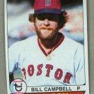 1979 Topps Baseball #375 Bill Campbell Red Sox Pack Fresh