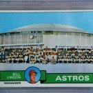 1979 Topps Baseball #381 Astros Team Checklist Pack Fresh