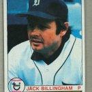 1979 Topps Baseball #388 Jack Billingham Tigers Pack Fresh