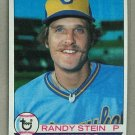 1979 Topps Baseball #394 Randy Stein RC Brewers Pack Fresh