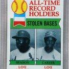 1979 Topps Baseball #415 Brock/Brock All-Time Record Holders Pack Fresh