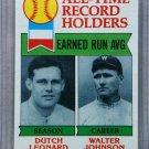 1979 Topps Baseball #418 Leonard/Johnson All-Time Record Holders Pack Fresh
