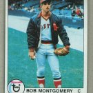 1979 Topps Baseball #423 Bob Montgomery Red Sox Pack Fresh