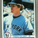 1979 Topps Baseball #434 Ken Clay Yankees Pack Fresh