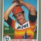 1979 Topps Baseball #437 Rick Williams RC Astros Pack Fresh