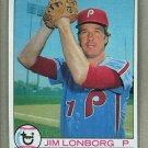 1979 Topps Baseball #446 Jim Lonborg Phillies Pack Fresh