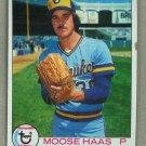 1979 Topps Baseball #448 Moose Haas Brewers Pack Fresh