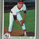 1979 Topps Baseball #453 Chris Knapp Angels Pack Fresh