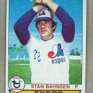 1979 Topps Baseball #468 Stan Bahnsen Expos Pack Fresh