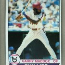 1979 Topps Baseball #470 Garry Maddox Phillies Pack Fresh