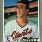 1979 Topps Baseball #486 Bob Knepper Giants Pack Fresh