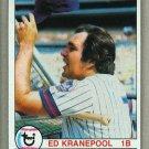 1979 Topps Baseball #505 Ed Kranepool Mets Pack Fresh