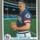 1979 Topps Baseball #511 Paul Reuschel Indians Pack Fresh