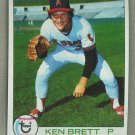 1979 Topps Baseball #557 Ken Brett Angels Pack Fresh