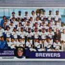 1979 Topps Baseball #577 Brewers Team Checklist Pack Fresh