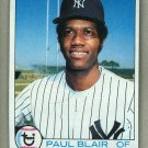 1979 Topps Baseball #582 Paul Blair Yankees Pack Fresh