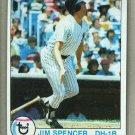 1979 Topps Baseball #599 Jim Spencer Yankees Pack Fresh