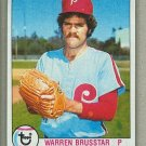 1979 Topps Baseball #653 Warren Brusstar Phillies Pack Fresh
