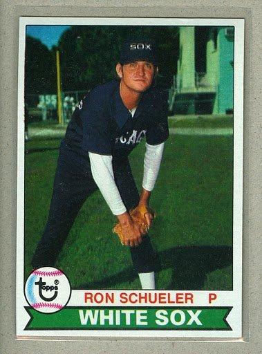 1979 Topps Baseball #686 Ron Schueler White Sox Pack Fresh