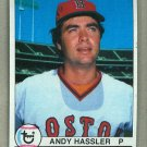 1979 Topps Baseball #696 Andy Hassler Red Sox Pack Fresh