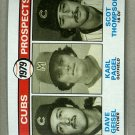 1979 Topps Baseball #716 Geisel/Pagel/Thompson RC Cubs Pack Fresh
