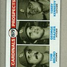 1979 Topps Baseball #724 Bruno/Frazier/Kennedy RC Cardinals Pack Fresh