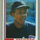 1982 Topps Baseball #791 Bobby Brown Yankees Pack Fresh