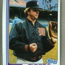 1982 Topps Baseball #784 Milt Wilcox Tigers Pack Fresh