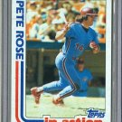 1982 Topps Baseball #781 Pete Rose Phillies Pack Fresh