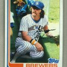 1982 Topps Baseball #765 Gorman Thomas Brewers Pack Fresh
