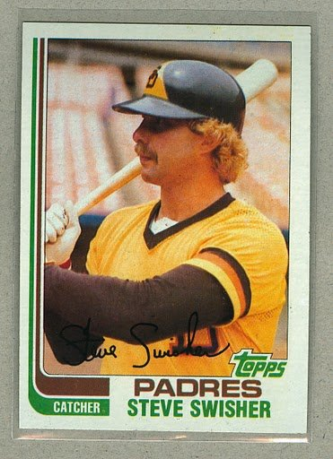 1982 Topps Baseball #764 Steve Swisher Padres Pack Fresh